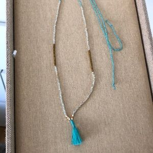 Chloe and Isabel tassel necklace